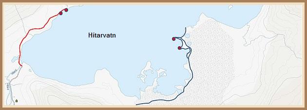 Rölt helgarinnar við Hítarvatn