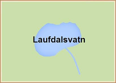 Laufdalsvatn - Hnit: 64° 5,408'N, 19° 13,406'W