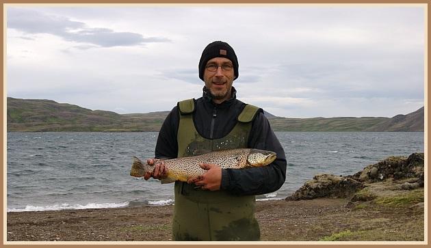 Stórurriði úr Langavatni 2011