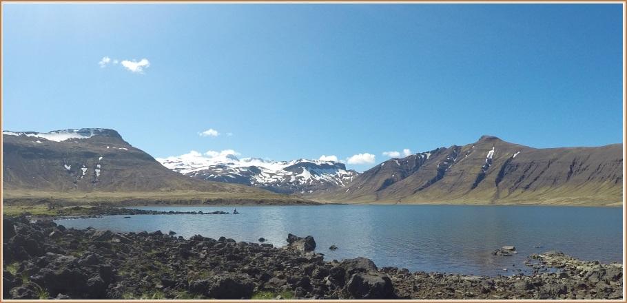 Hraunsfjörður í blíðunni