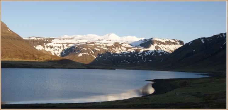 Hraunsfjörðurinn að kvöldi 13.júní