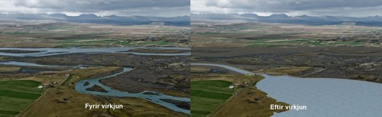 Árnessporður - Mynd: Landsvirkjun