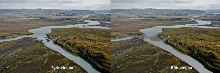 Búðafoss - Mynd: Landsvirkjun