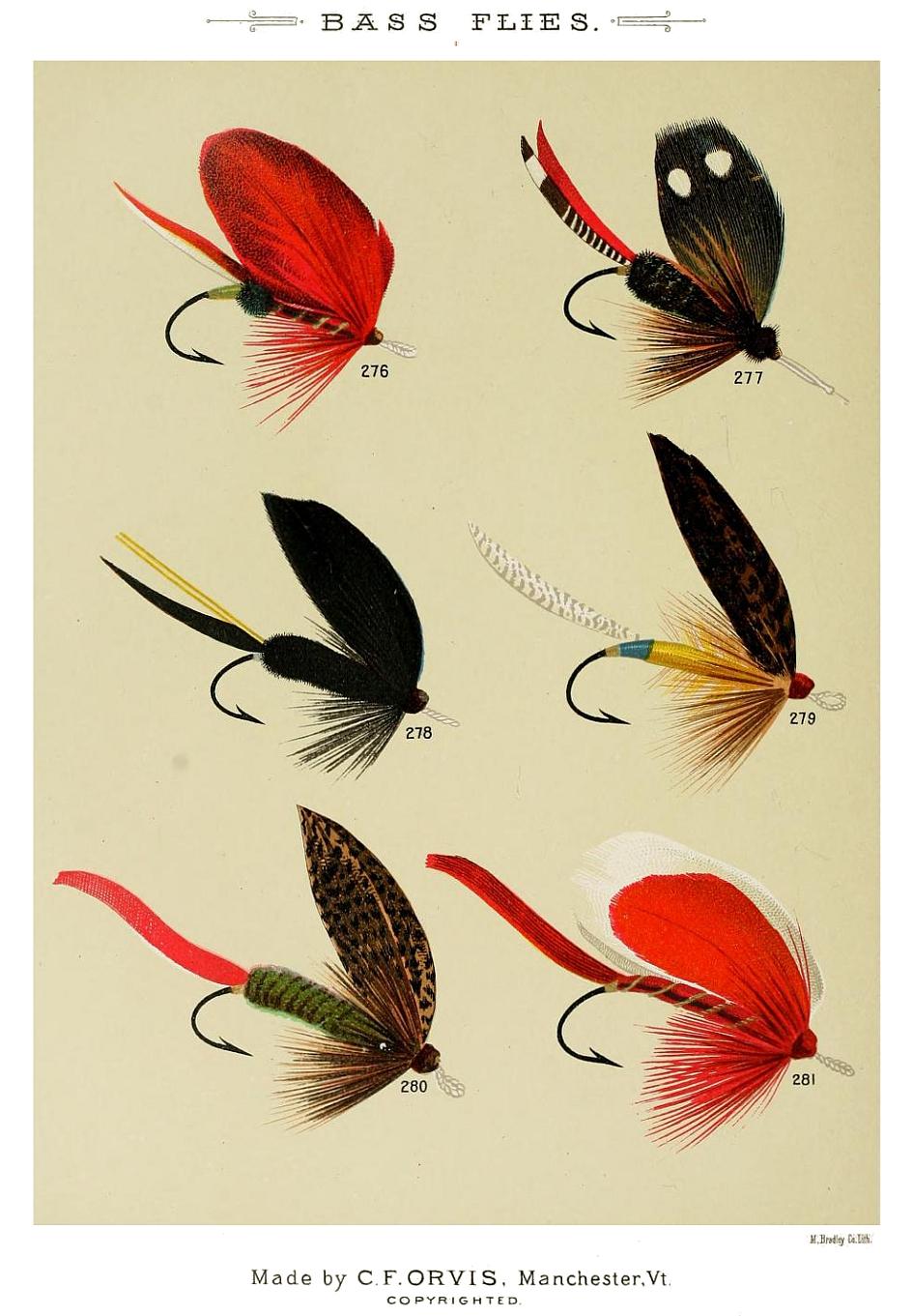 276. Scarlet Ibis – 277. Parker – 278. Raven – 279. Toodle-bug – 280. Read – 281. Premier