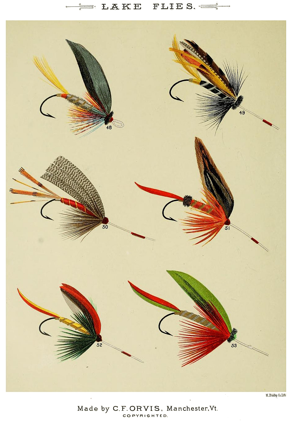 48. Hart – 49. Hill Fly – 50. Kingfisher – 51. Golden Rod – 52. King of the Woods – 53. Green Glade