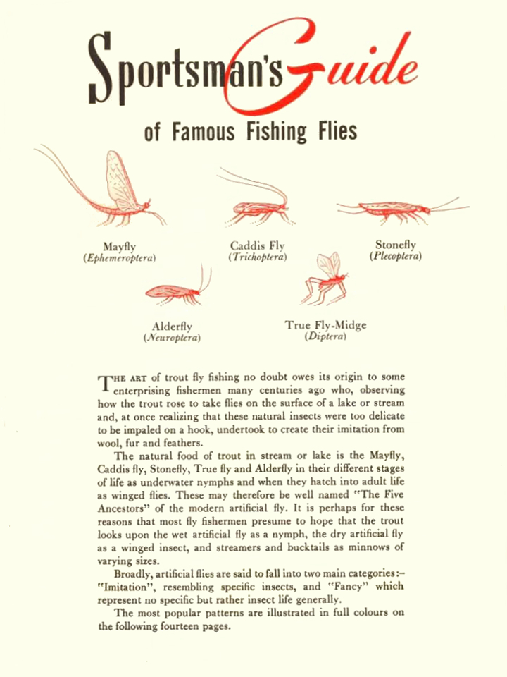 Sportmans Guide Across Canada 1956