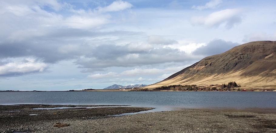Meðalfellsvatn 3.apríl 2016