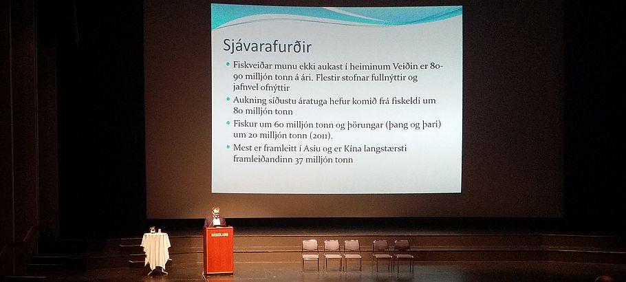 Sigurður Guðjónsson, forstjóri Veiðimálastofnunar