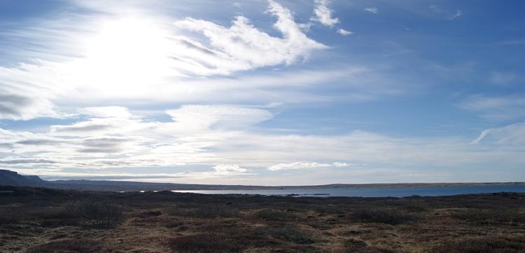 Hlíðarvatn að morgni 2.maí