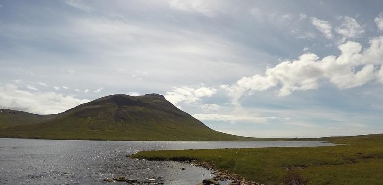 Flottur veiðidagur við Langavatn á Skaga
