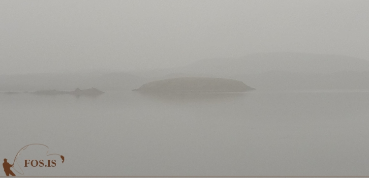 Þoka á Frostastaðavatni