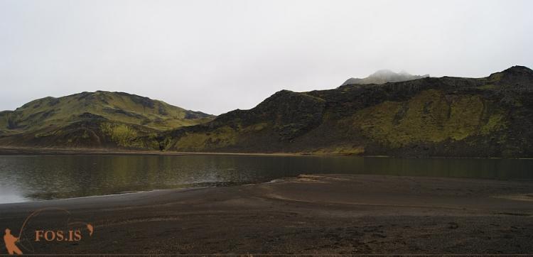 Við suðurenda Eskihlíðarvatns